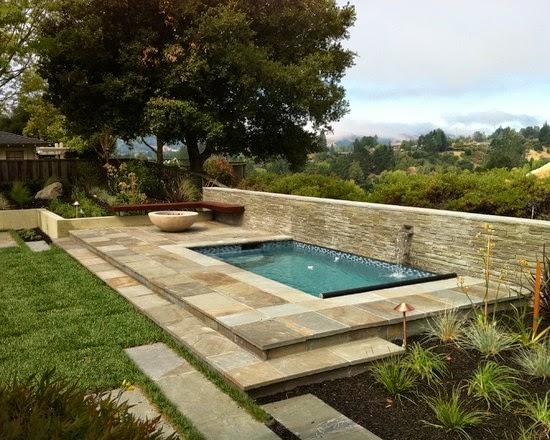 Hogares frescos 18 dise os de peque as pero hermosas piscinas for Jardin con alberca
