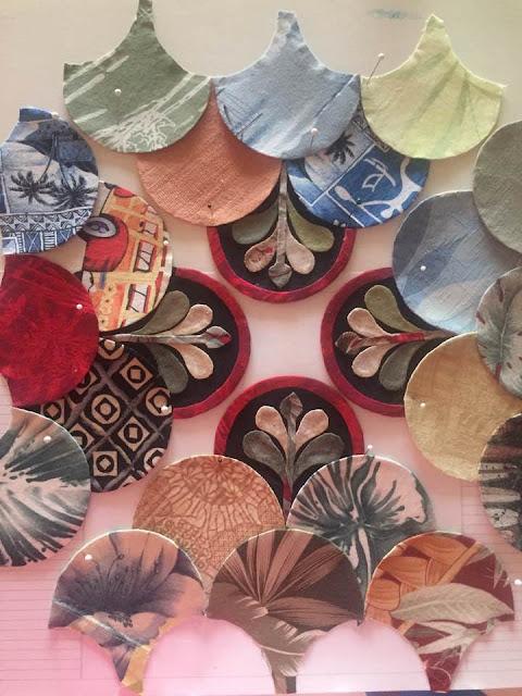 Esther's Design Blog: 'Shelly' by Karen Richardson