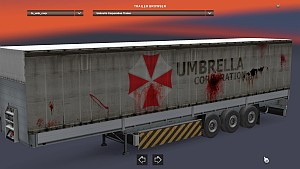 Umbrella Corporation Schmitz trailer