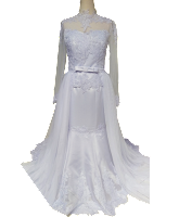 Gaun Putih 7a-005