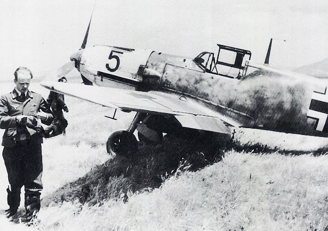 8 April 1941 worldwartwo.filminspector.com Bf 109E Max Dobislav
