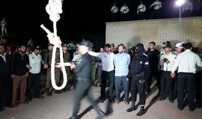 Parsabad public execution, Iran, 20 SEPT 2017