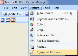 Cara Mudah Compress Foto/Gambar