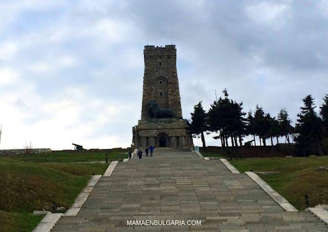 Monumento a la Libertad en Shipka Bulgaria