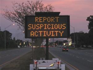 Report Suspicious Activity - Help Prevent Residential Burglary!