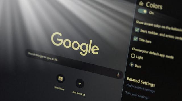 تفعيل الوضع المظلم في جوجل كروم Google Chrome Dark Mode