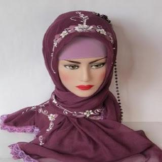 model jilbab pesta april jasmine