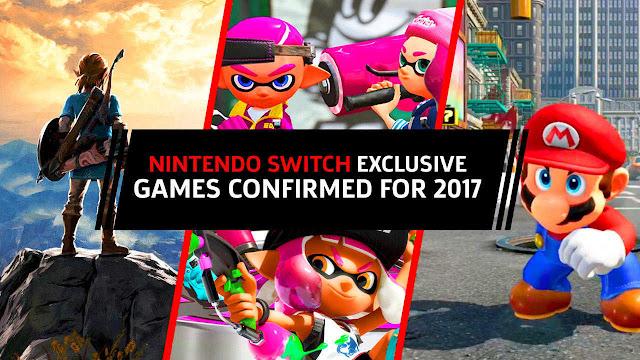 kali ini saya akan membuat sebuah artikel yang membahas informasi seputar console game Nin Ini dia! 7 Game Nintendo Switch Terbaik 2017