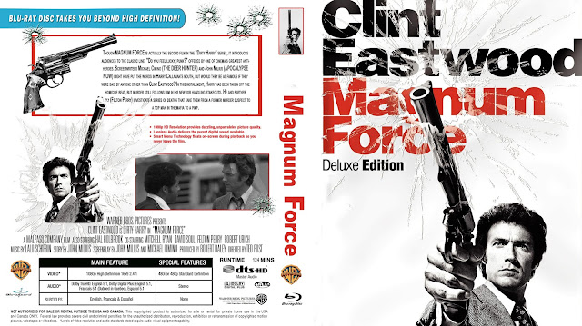 Magnum Force Bluray Cover