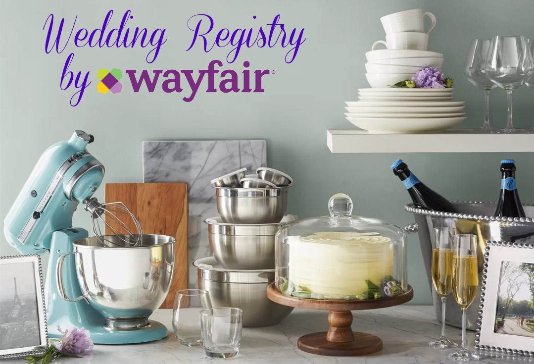 Home Registry through Wayfair voucher code