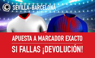 sportium promocion Sevilla vs Barcelona 31 marzo