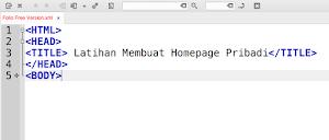 Software Sederhana untuk Membuat Homepage