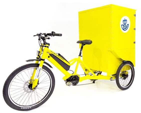 bicicleta electrica cargo españa correo