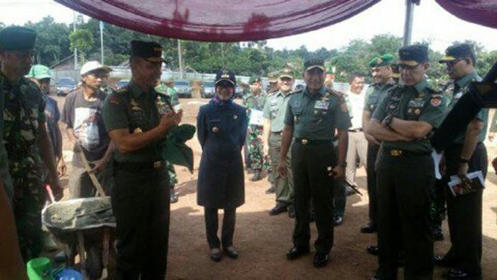Batalyon Cakra di Leba Banten