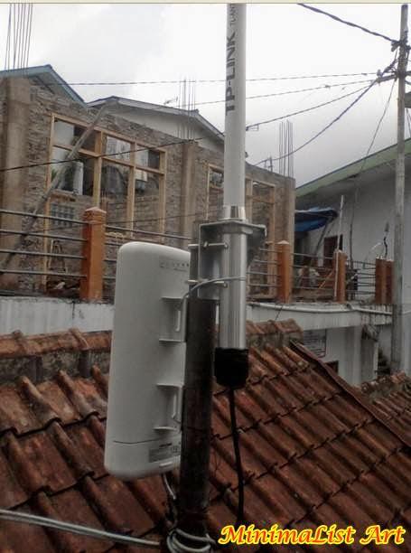 Antena Pipa Besi Galvanis