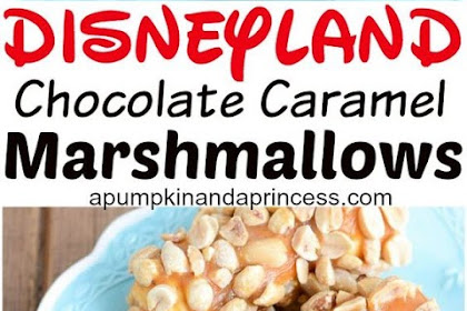 DISNEYLAND INSPIRED CHOCOLATE CARAMEL MARSHMALLOWS