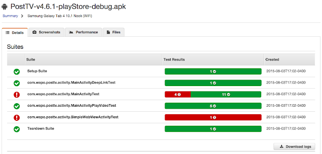 Testing Your Apps with AWS Device Farm