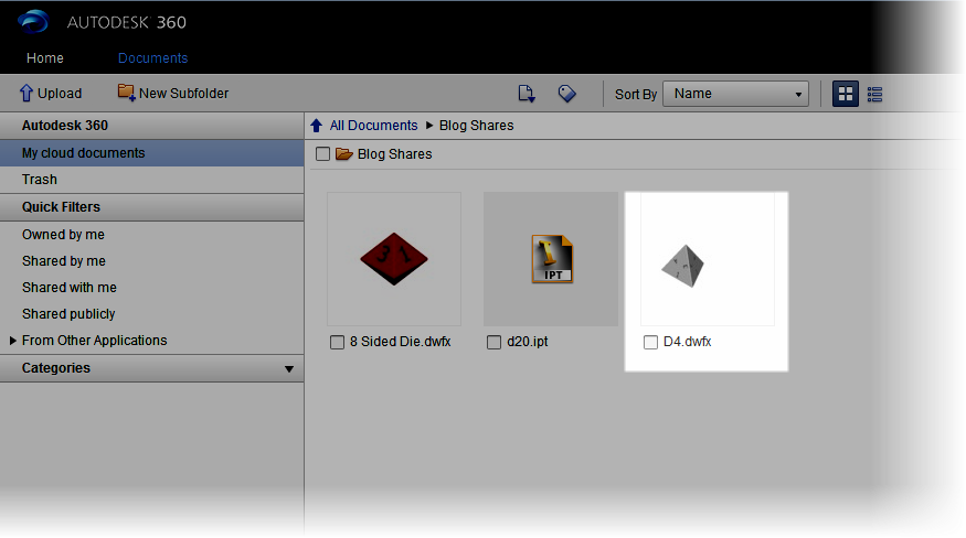 Using Autodesk 360 to Create an Interactive View on a Webpage
