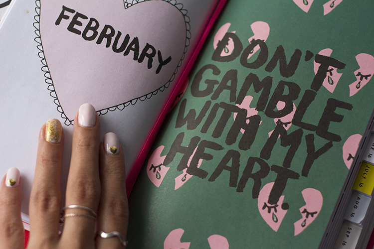 don't gamble with my heart bando planner