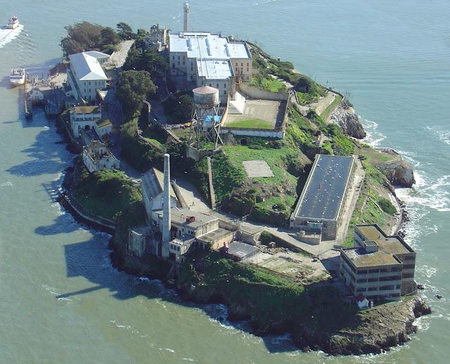 Ilha de Alcatraz em San Francisco
