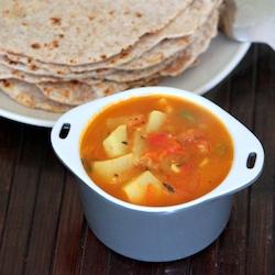 Asian Vegetarian potato curry