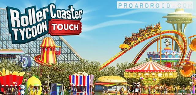 تحميل لعبة بناء الحدائق الرائعة والممتعة RollerCoaster Tycoon Touch النسخة المهكرة للاجهزة الاندرويد باخر تحديث !