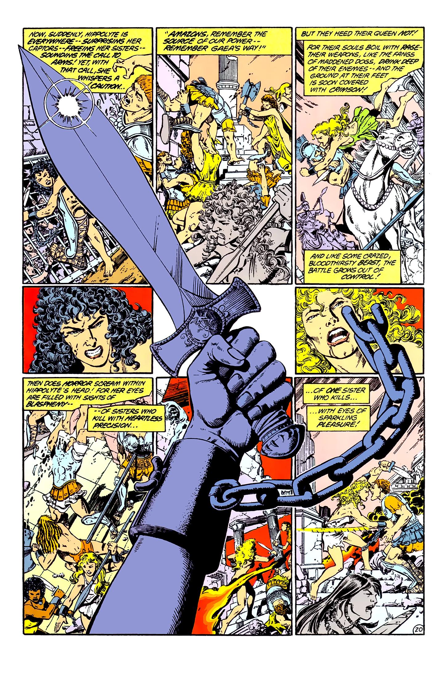 Read online Wonder Woman (1987) comic -  Issue #1 - 22