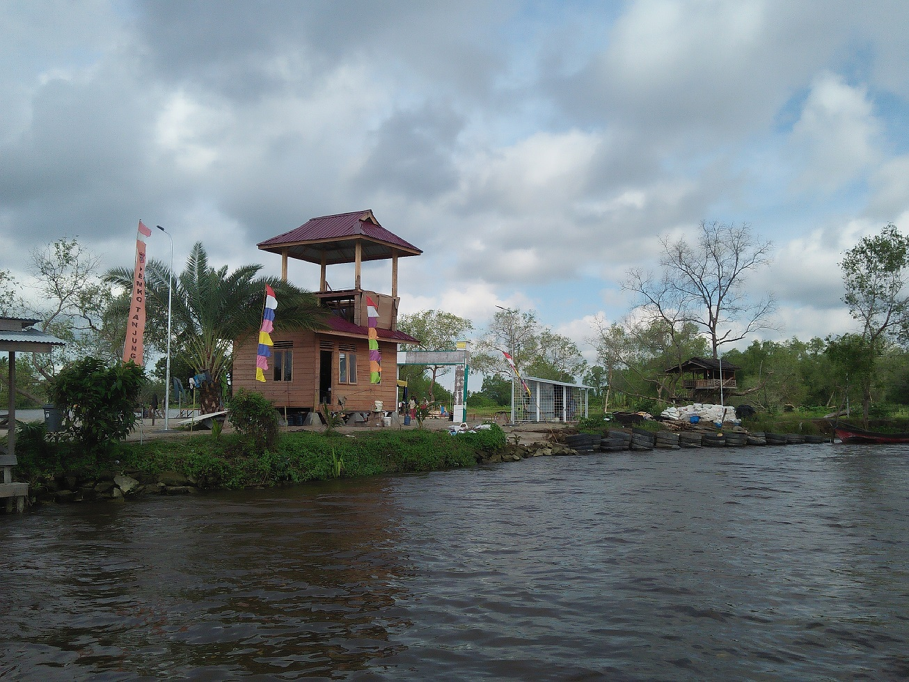 Peresmian Pulau Basusen sebagai objek wisata air Tanjungbalai