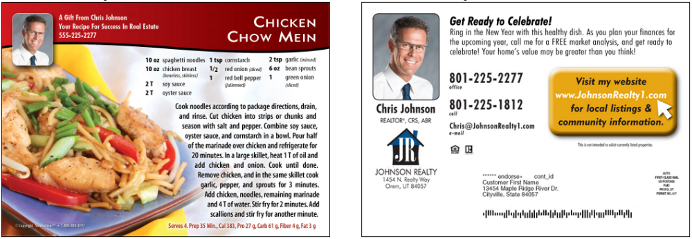 Funny Realtor Postcards for a Friendly Professional | The