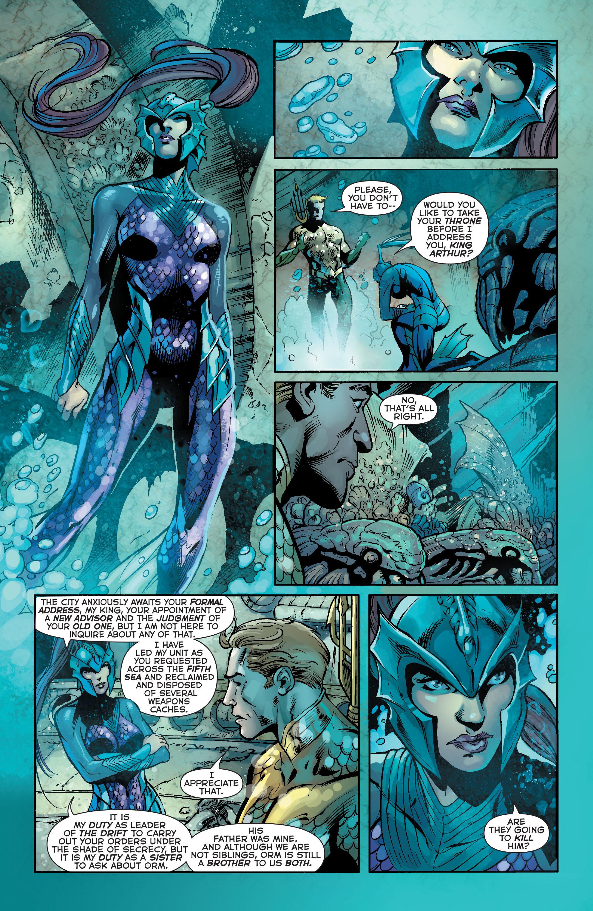 Read online Aquaman (2011) comic -  Issue #18 - 10