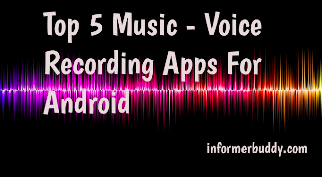 Music recording apps for android