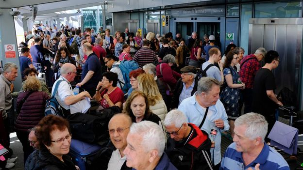 BRITISH AIRWAYS CHAOS CONTINUES