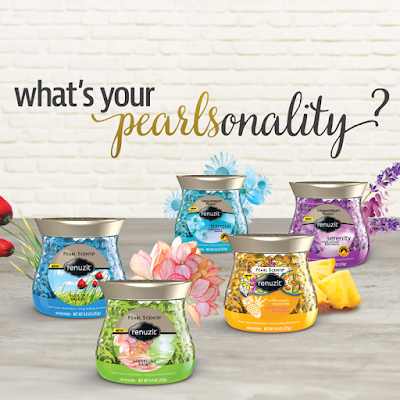 Renuzit Pearl Scents: What's Your Pearlsonaltity? Review + Giveaway #DesignYourAir