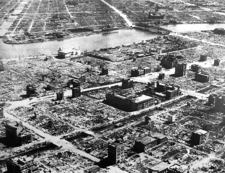 Το Τόκιο μετά το τέλος των βομβιστικών επιθέσεων