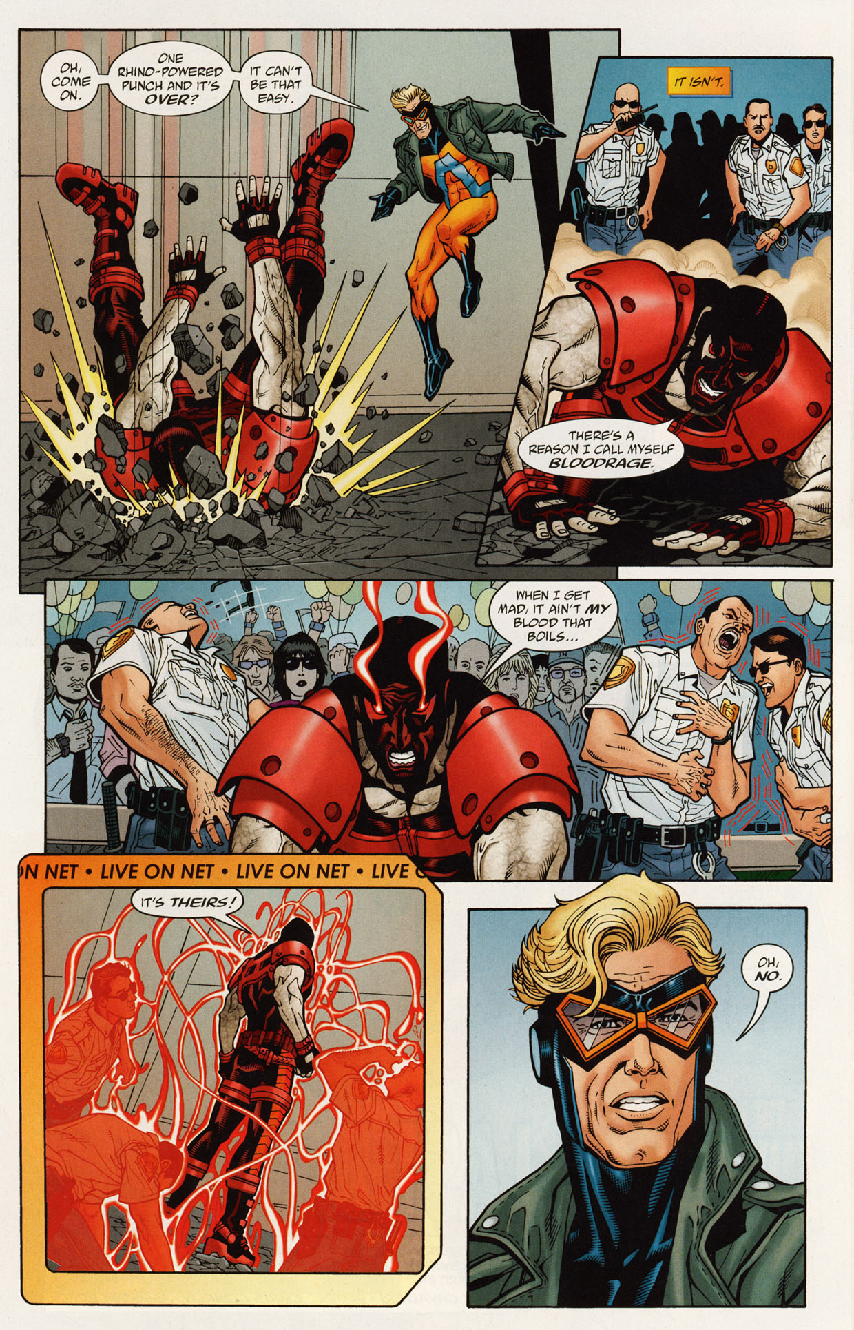 Read online Trinity (2008) comic -  Issue #46 - 29