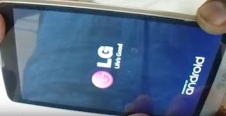 Hard Reset LG L Bello D335, зняти графічне блокування