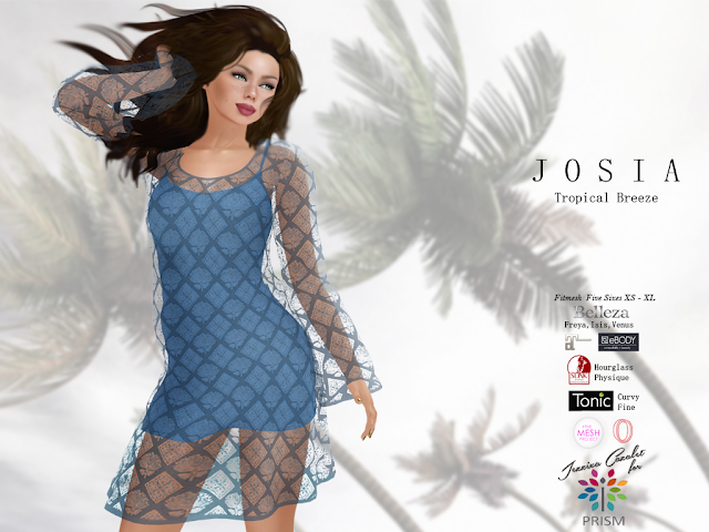 PRISM ~ New Release at the TWE12VE May 2019. JOSIA Dress Sets by Jezzixa