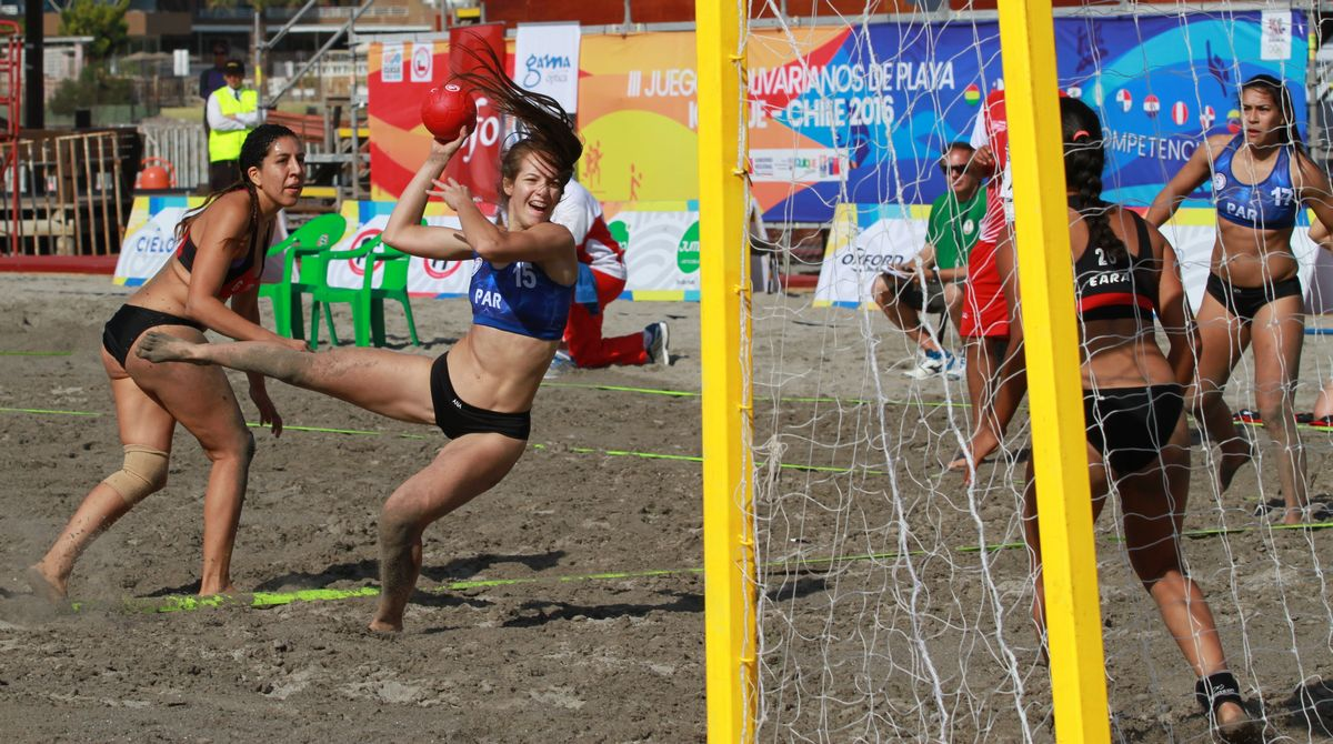 bolivarianos playa - beach handball