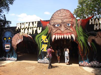Rumah Hantu Taman Buaya Melaka