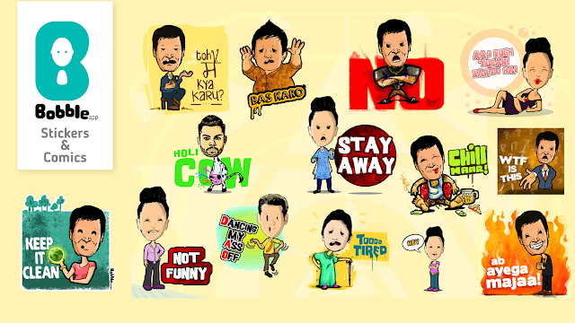 Bobble's customizable stickers in regional languages to be available exclusively on Indus OS