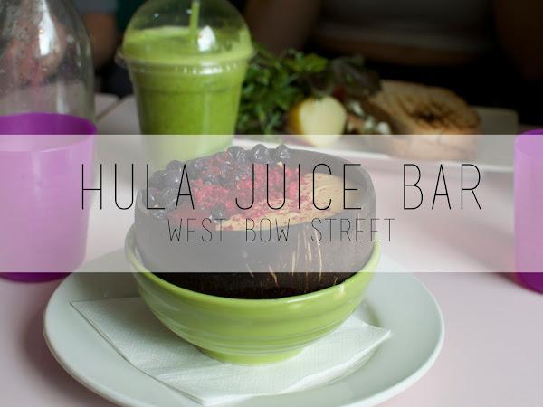 Hula Juice Bar, West Bow Street