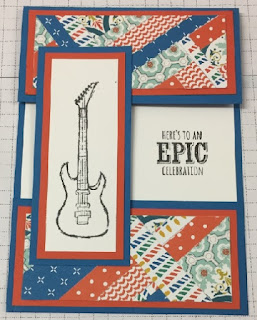 Male cards with scraps - zena kennedy stampin up demonstrator