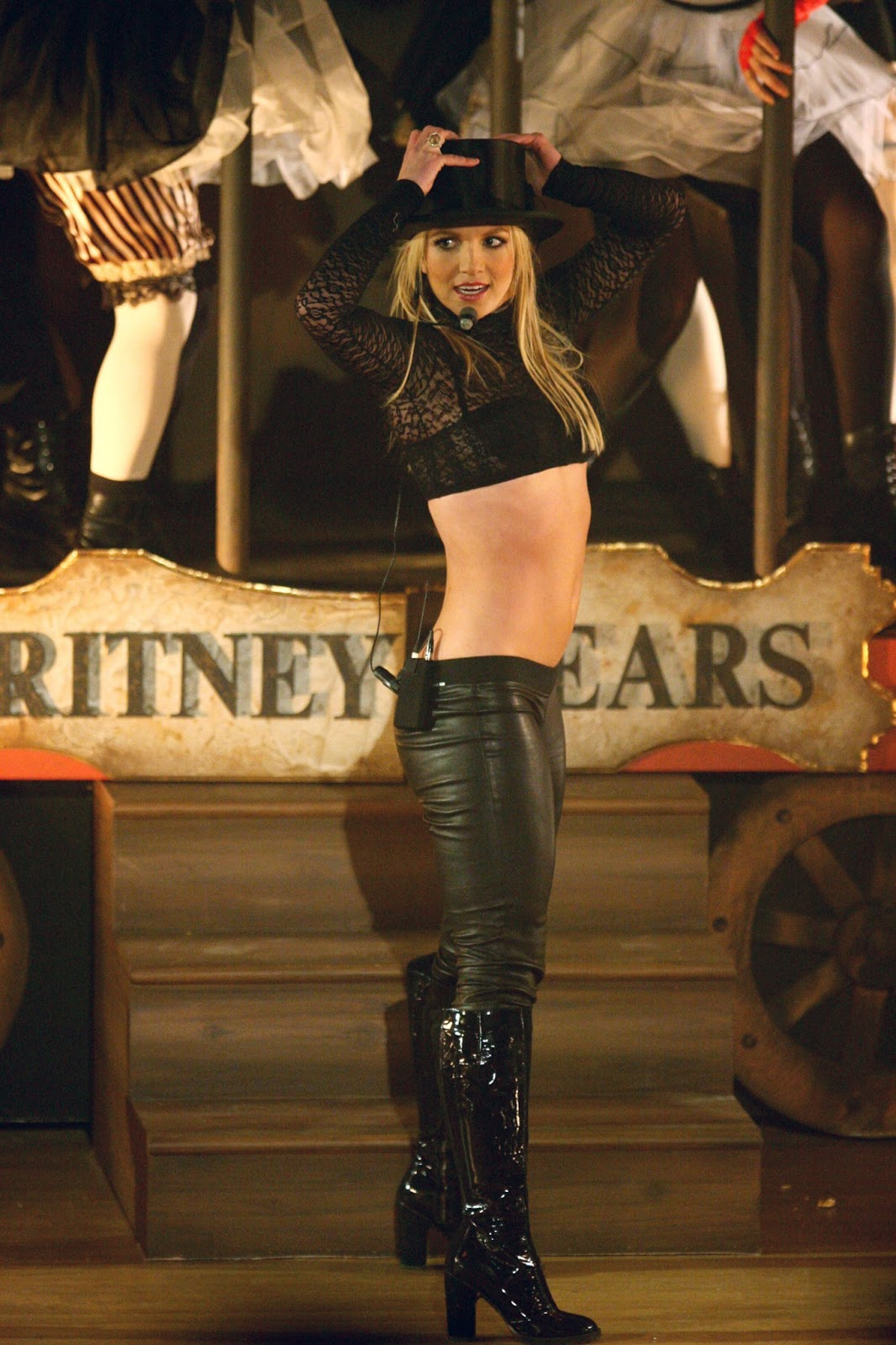 Britney Spears Femme Fatale Photoshoot