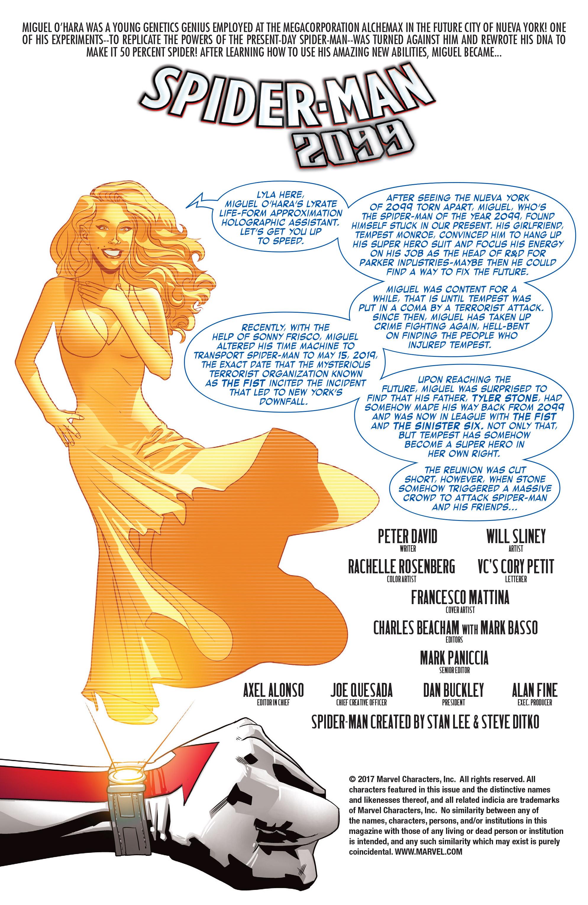 Read online Spider-Man 2099 (2015) comic -  Issue #24 - 2