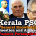 Kerala PSC - 50 General Knowledge questions and answers related to Famous Personalities