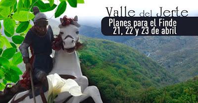 Planes para el Finde en el Valle del Jerte (21, 22 y 23 de abril)