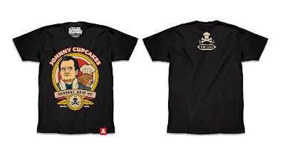 "Groundhog Day ""Dessert Déjà vu"" T-Shirt by Johnny Cupcakes"
