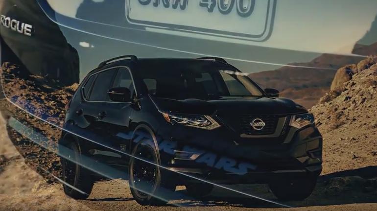 """Η Nissan στο Σαλόνι Αυτοκινήτου του Los Angeles με το """"διαστημικό"""" Rogue One Star Wars Limited Edition !"""