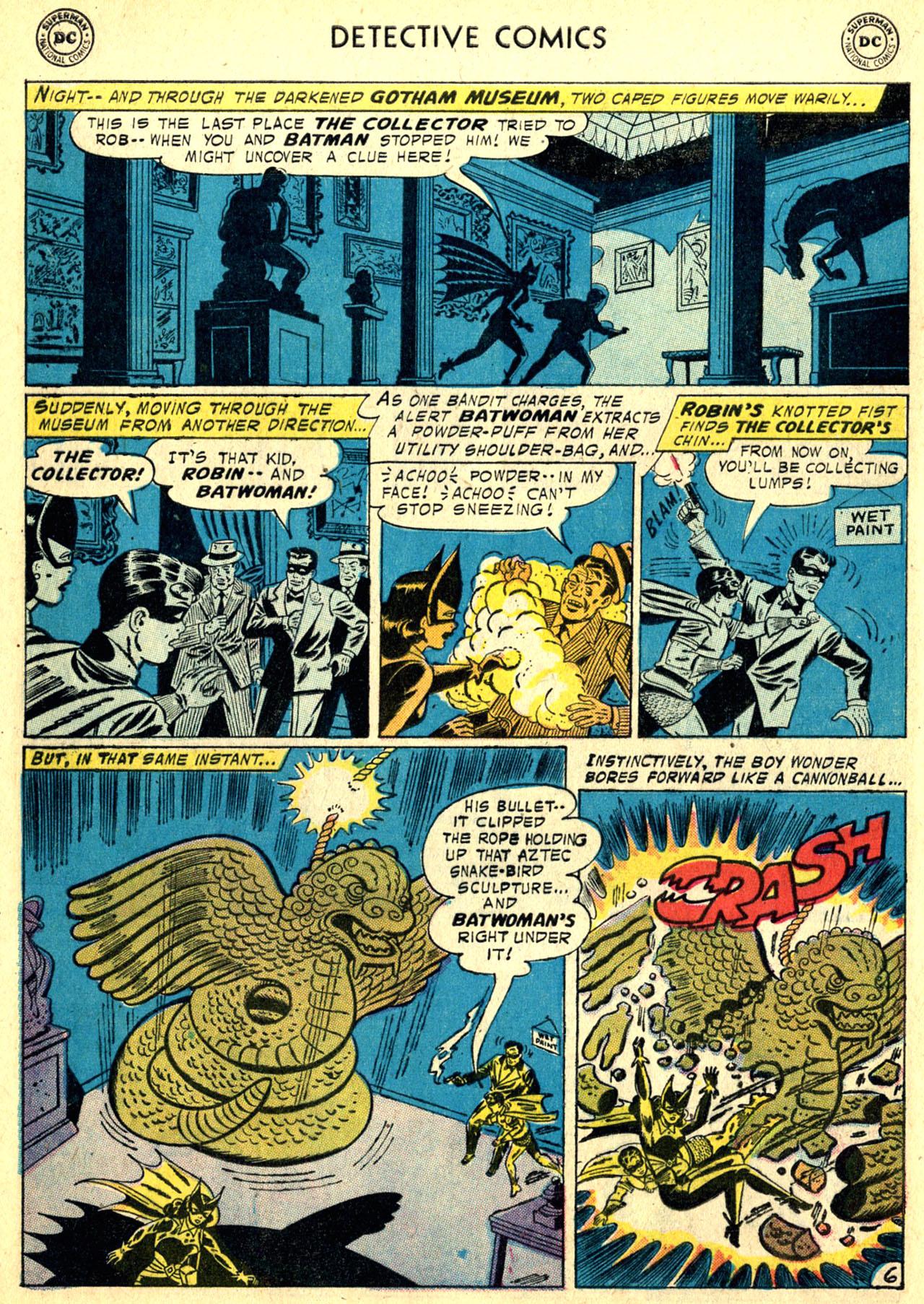 Read online Detective Comics (1937) comic -  Issue #249 - 8