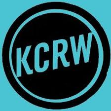 image of KCRW radio station logo